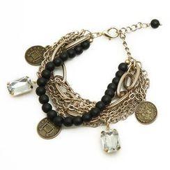 REDOPIN - Coin-Pendant Multi-Chain Bracelet