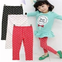 nanakids - Girls Polka-Dot Leggings