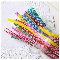 Ivyknoll - Polka Dot Decorative Twist Tie(500pcs)