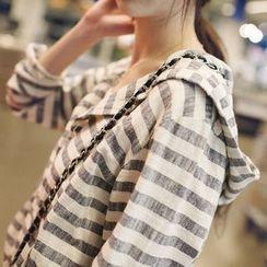 Wimi girls - Stripe Hooded Jacket