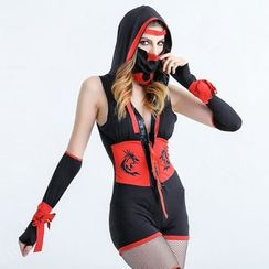 Cosgirl - Ninja Party Costume