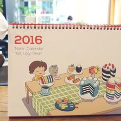 BABOSARANG - '2016 NARM' Desk Calendar (M)