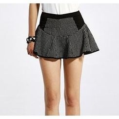 O.SA - Dotted Ruffled Skirt