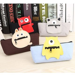 School Time - Monster Pencil Case