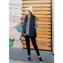 J-ANN - Padded Quilted Vest