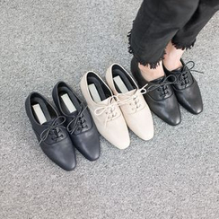 VIVIER - Lace-Up Loafers