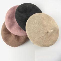 M.O.H - 圈環裝飾貝雷帽