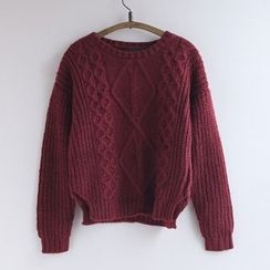 11.STREET - Ribbed Knit Top