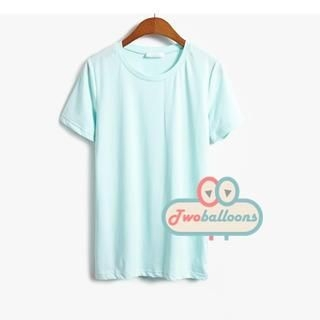 JVL - Short-Sleeve Round-Neck T-Shirt