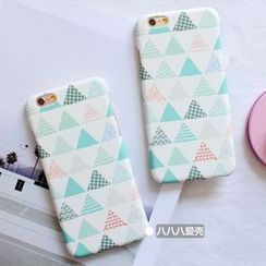 Hachi - Triangle Print Phone Case - Apple iPhone 5s / SE / 6 / 6 Plus / 7 / 7 Plus