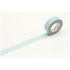 mt - mt Masking Tape : mt 1P Knit Check Blue