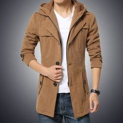 T for TOP - Hooded Zip Coat