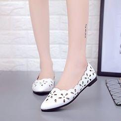 Simply Walk - 通花平跟鞋