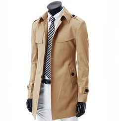 MR.ZERO - Belted Trench Coat