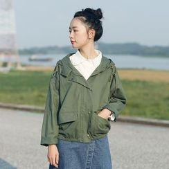 Coolvibe - Hooded Cropped Parka