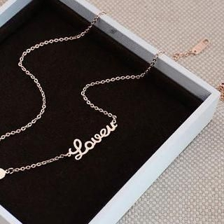 Love Generation - Lettering & Heart Bracelet