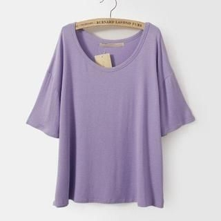 LULUS - Short-Sleeve Loose-Fit T-Shirt