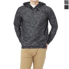 Seoul Homme - Long-Sleeve Hoodie T-Shirt