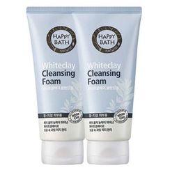 HAPPY BATH - Whiteclay Cleansing Foam