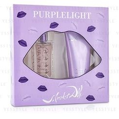 Salvador Dali - Purplelight Coffret: Eau De Toilette Spray 30ml/1oz + Body Lotion 100ml/3.4oz