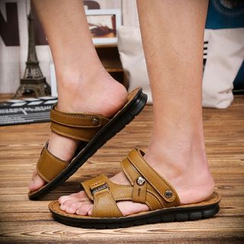Preppy Boys - Peep-Toe Sandals