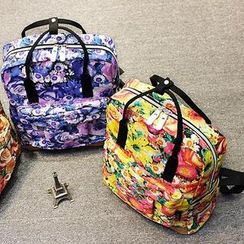 Bag Hub - Floral Backpack