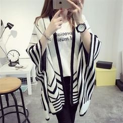 Hibisco - Striped Poncho