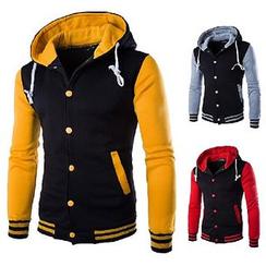 Maldini - Hooded Baseball Jacket