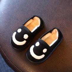 綠豆蛙童鞋 - 童裝毛裡輕便鞋