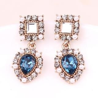 Supermary - Crystal Earrings