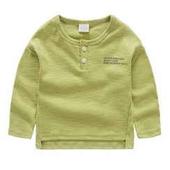 DEARIE - 親子字母長袖T恤