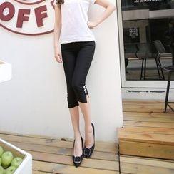 Meigo - Capri Skinny Pants