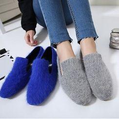 Monde - 絨毛樂福鞋