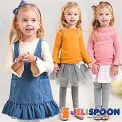JELISPOON - Girls Ruffle-Cuff T-Shirt
