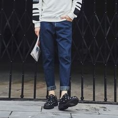 MEING - 修身牛仔褲