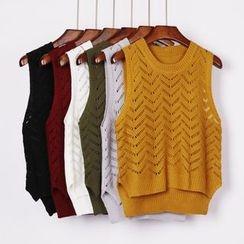 City of Dawn - Open-Knit Vest