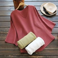 YOYO - 七分袖针织上衣