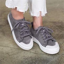 PINKSISLY - Corduroy Sneakers