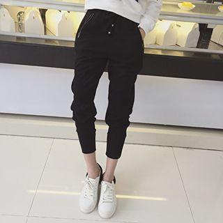 Eva Fashion - Baggy Drawcord Pants