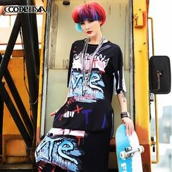 Cooreena - Short-Sleeve Printed T-Shirt