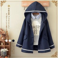 Angel Love - Hooded Fleece Jacket