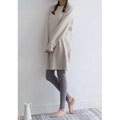 GOROKE - Long-Sleeve T-Shirt Dress