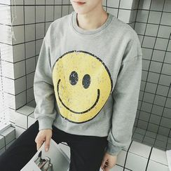 qiaqiayes - Print Pullover