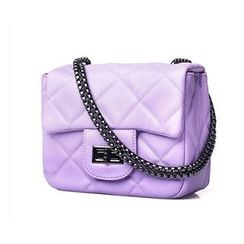 SUOAI - Quilted Chain Shoulder Bag