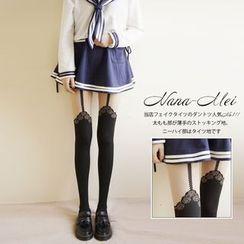 NANA Stockings - 仿塑身內搭褲