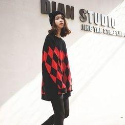 Polaris - Argyle Long Sweater