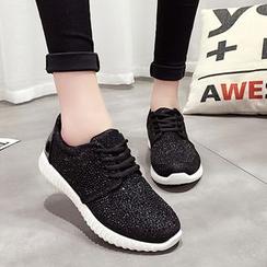 BAYO - Rhinestone Sneakers