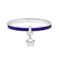 Kenny & co. - Share of Love Lucky Star Purple Enamel Bangle