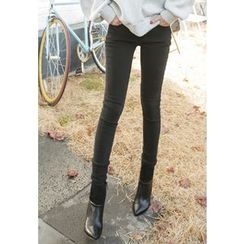 REDOPIN - Flat-Front Skinny Pants