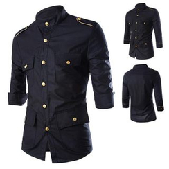 Sheck - 七分袖衬衫